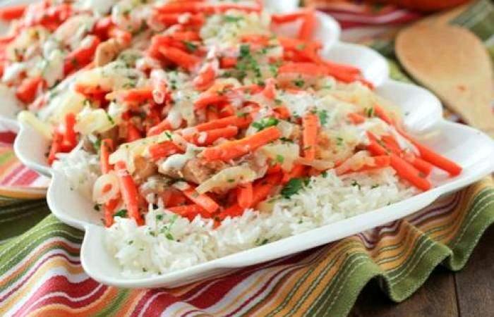 Рецепт Куриные бедра с овощами шаг-12