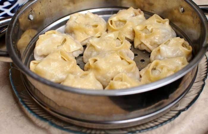 Рецепт Манты из говядины шаг-17
