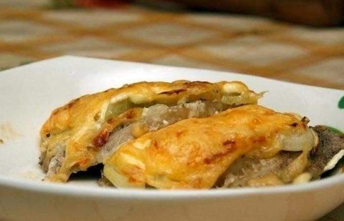 Готовим Мясо Мясо по-французски с картофелем