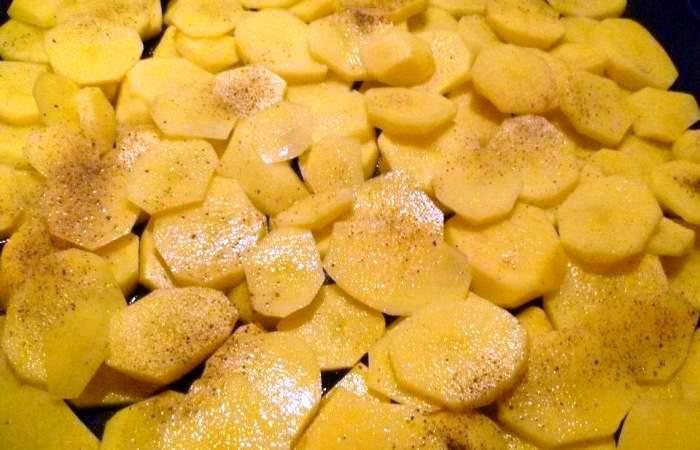 Рецепт Мясо по-французски с картофелем шаг-1
