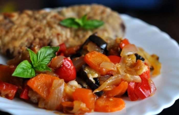 Готовим Здоровье Овощное рагу с баклажанами