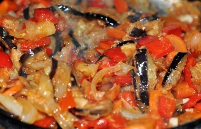 Рецепт Овощное рагу с баклажанами  шаг-4