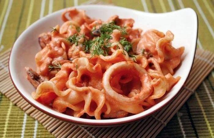 Рецепт Паста с морепродуктами шаг-7
