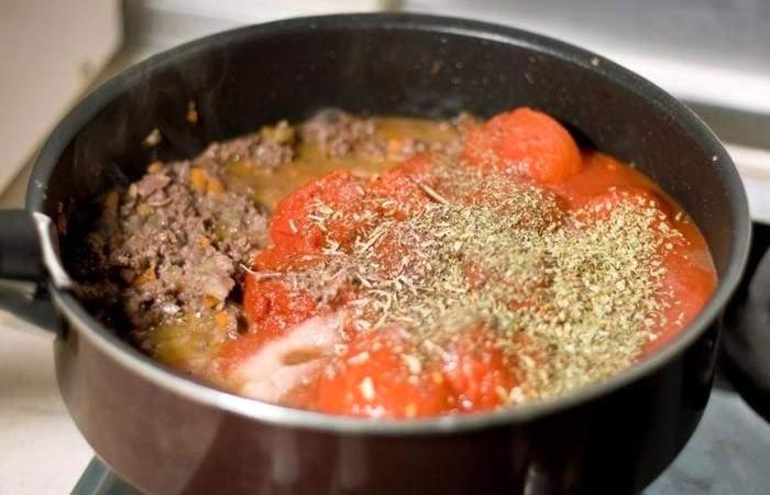 Рецепт Паста с соусом болоньезе шаг-6