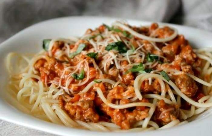 Рецепт Паста с соусом болоньезе шаг-8