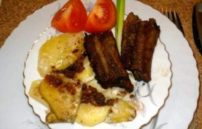 Рецепт Свиные ребрышки, запеченные в духовке шаг-7