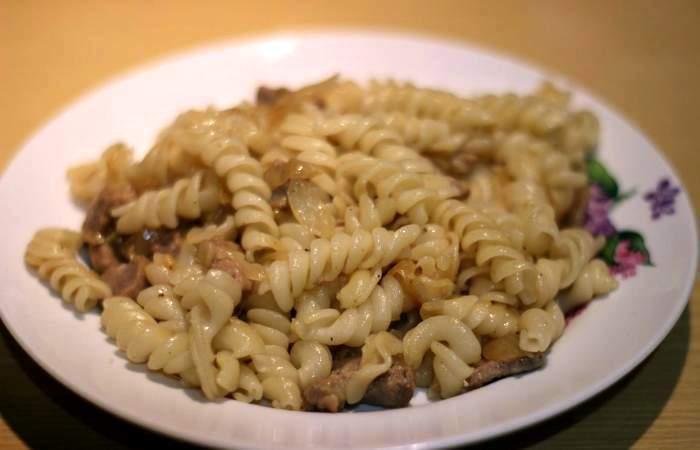 Рецепт Свинина с макаронами шаг-10