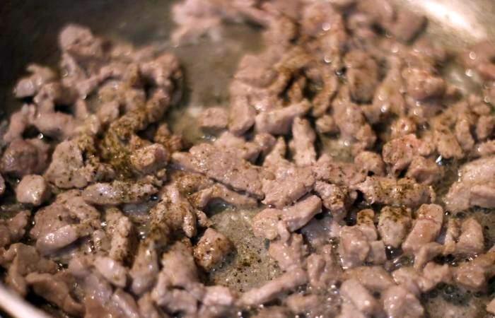 Рецепт Свинина с макаронами  шаг-4