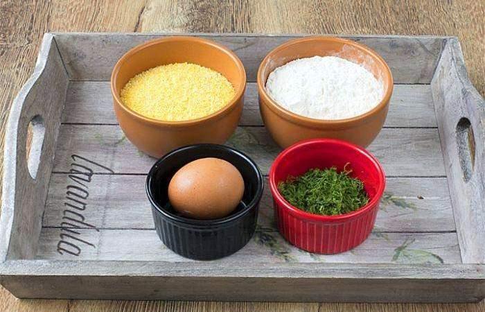 Рецепт Вареники из кукурузной крупы с картофелем шаг-1