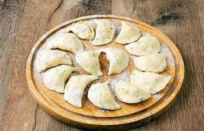 Рецепт Вареники из кукурузной крупы с картофелем  шаг-4