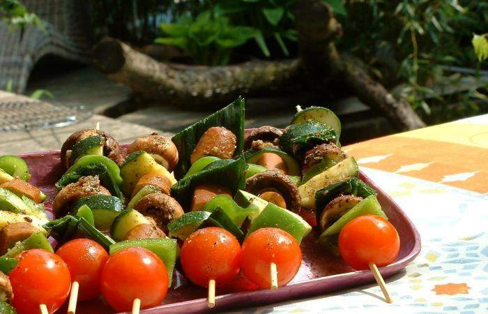 Готовим Вегетарианские Вегетарианский шашлык