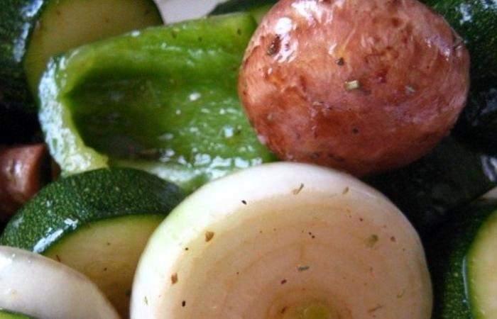 Рецепт Вегетарианский шашлык шаг-3