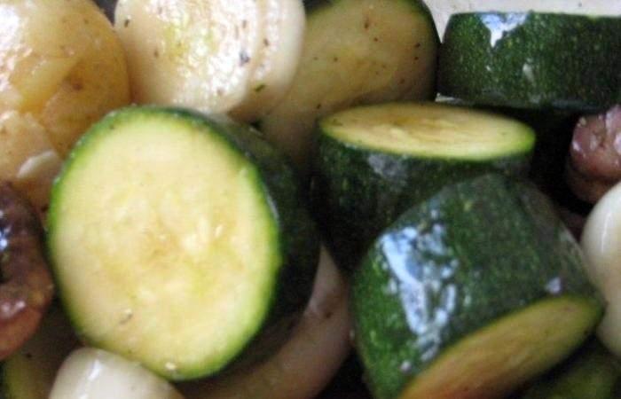 Рецепт Вегетарианский шашлык  шаг-4