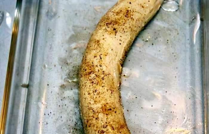 Рецепт Яичница с бананом шаг-1