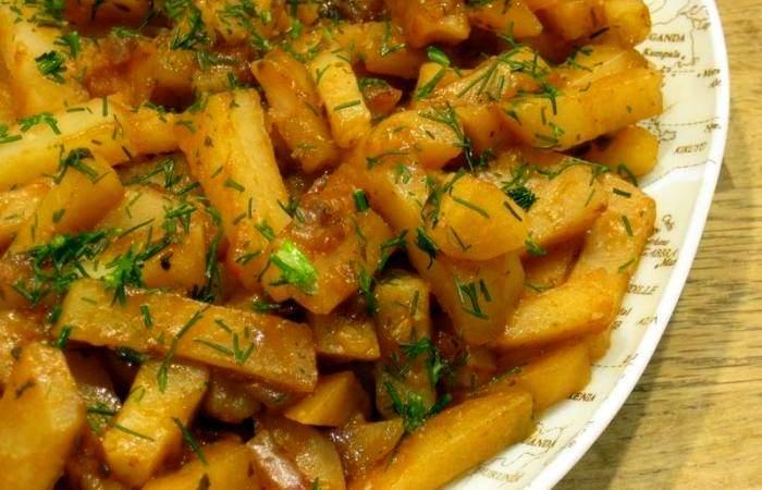Рецепт Запеченный картофель в мультиварке  шаг-4