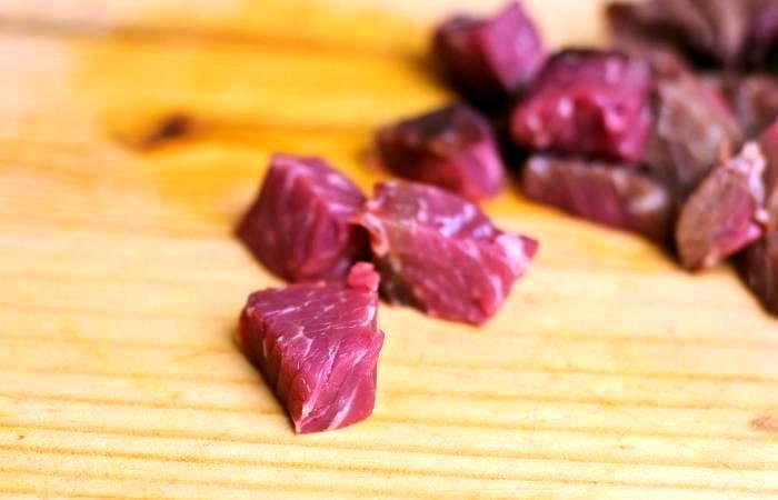 Запеканка из баклажанов с мясом