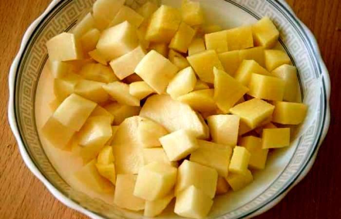 Рецепт Жаркое в горшочках по-вегетариански  шаг-2