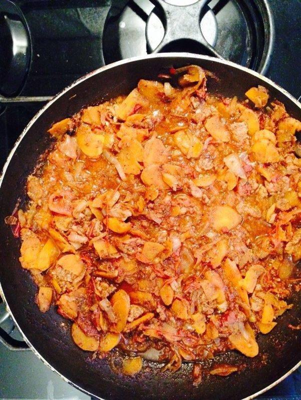 рецепт говядина с аджикой
