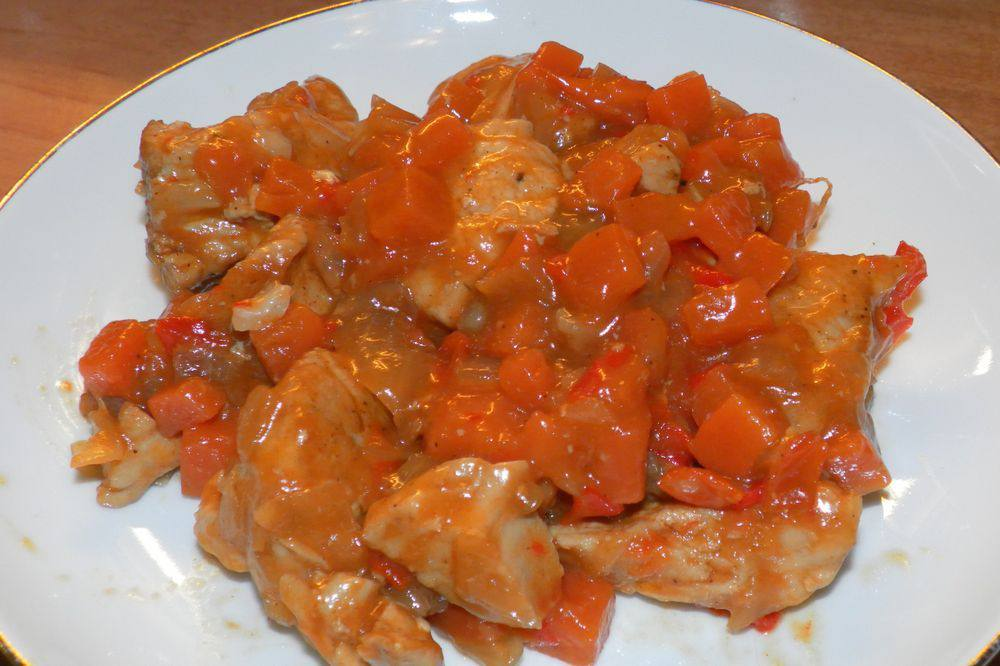 Филе индейки с овощами рецепты с фото