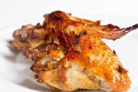Мясо Куриные крылышки в апельсиновой заливке
