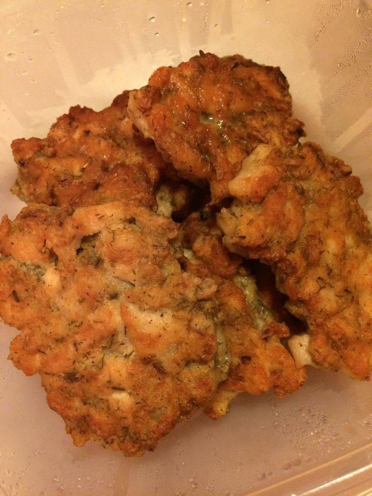 Мясо Куриные рубленые котлеты с укропом