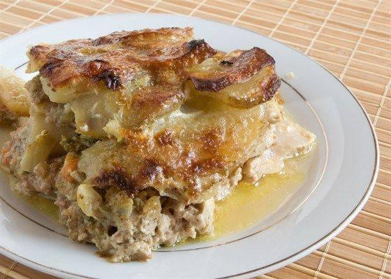 мясная запеканка с картофелем лучший рецепт