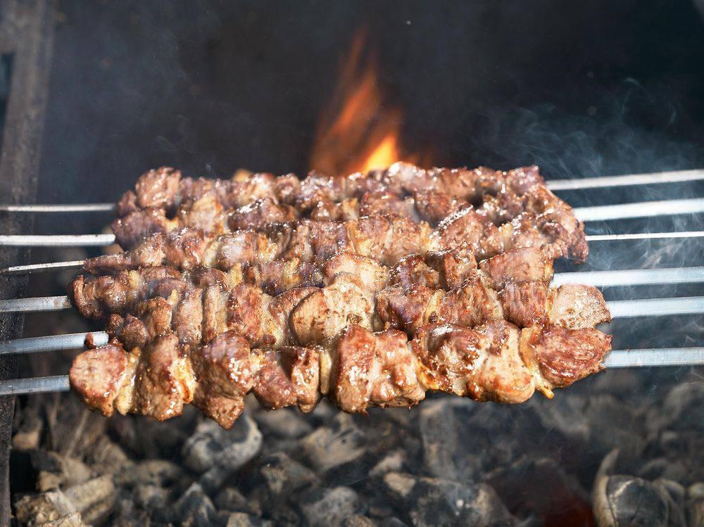 Рецепт шашлыка из говядины как готовить