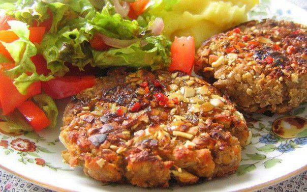 Готовим Мясо Гречнево-куриные котлеты