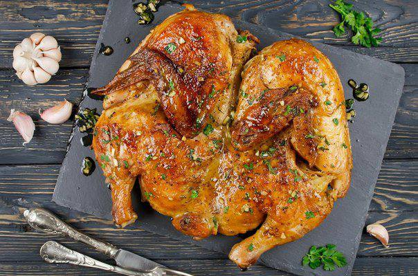 Готовим Мясо Курица по-аджарски