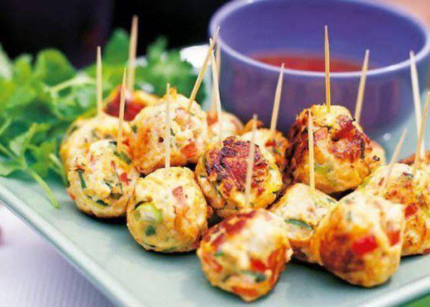 Готовим Мясо Куриные шарики с овощами