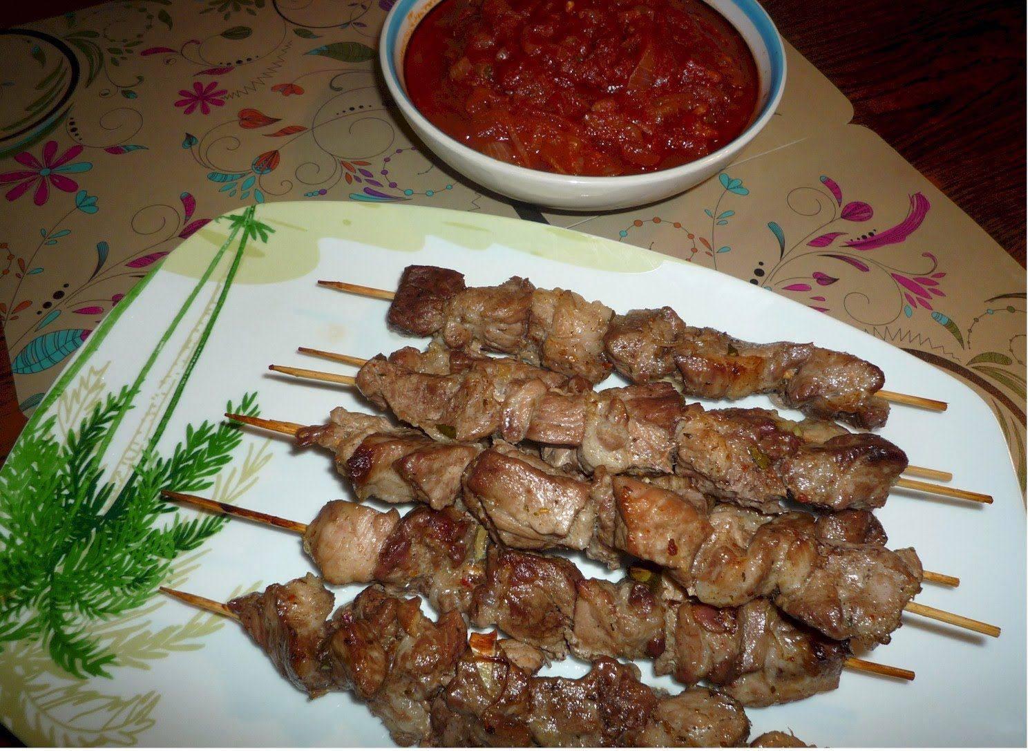 Маринад для шашлыка из баранины рецепт пошагово