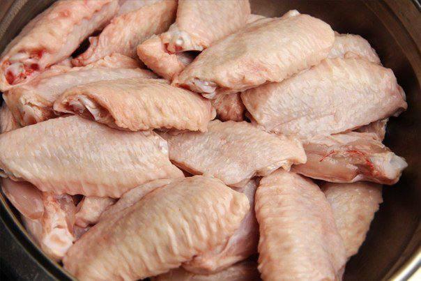 Рецепт Куриные крылышки с сыром пармезан шаг-1