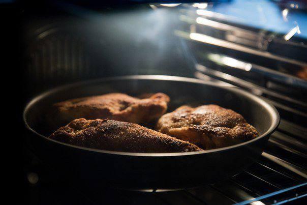 Рецепт Куриный шницель «Кордон блю» шаг-7