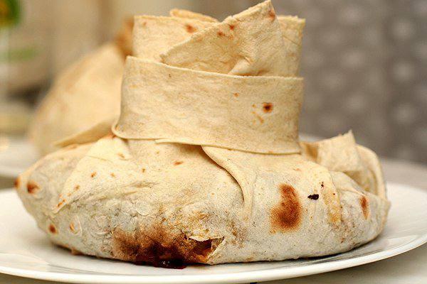 Готовим Мясо Мясо в армянском лаваше
