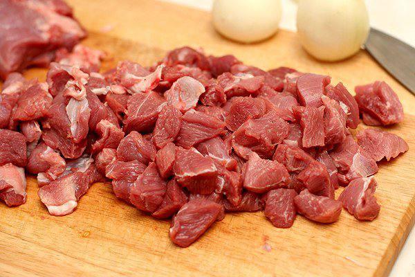 Рецепт Мясо в армянском лаваше  шаг-2