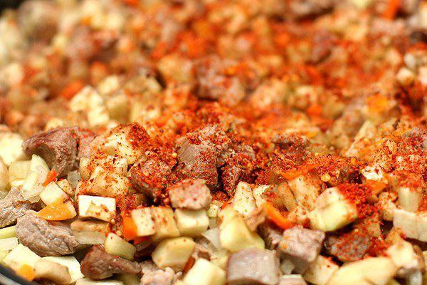 Рецепт Мясо в армянском лаваше  шаг-4
