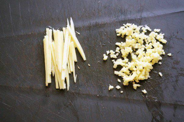 Рецепт Свинина в остром соусе с мандаринами шаг-1