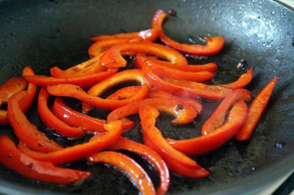 Рецепт Свинина в остром соусе с мандаринами шаг-7