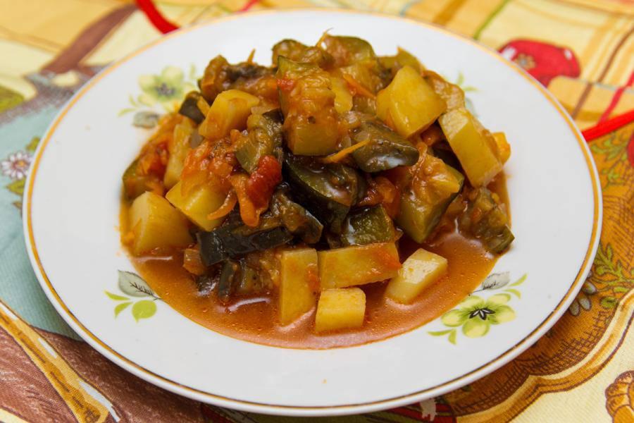 Как приготовить овощное рагу в мультиварке рецепт