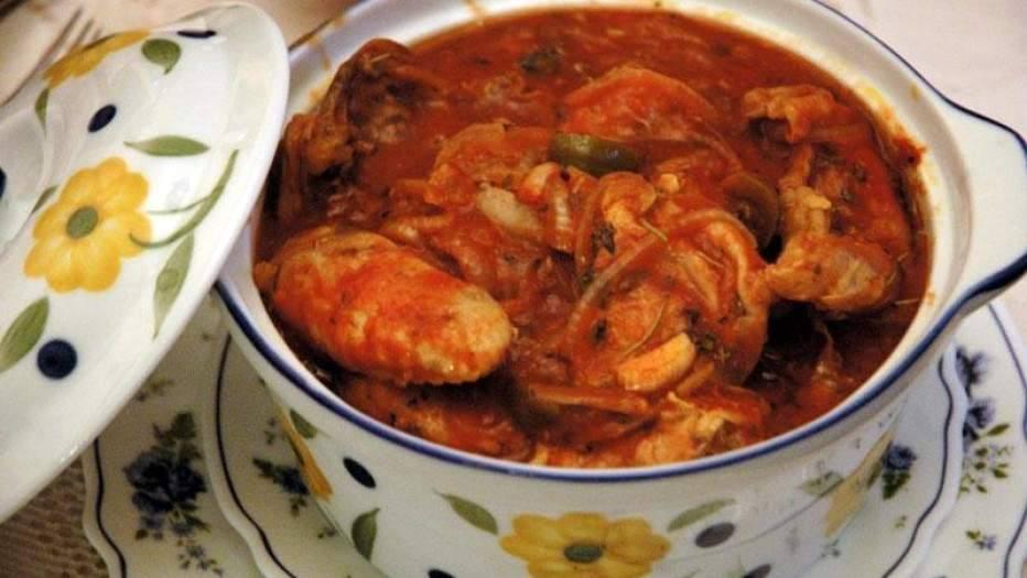 чахохбили из курицы рецепт пошагово с фото