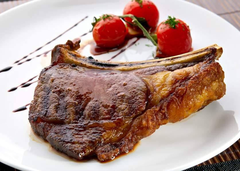 Мясо Фаршированная телятина