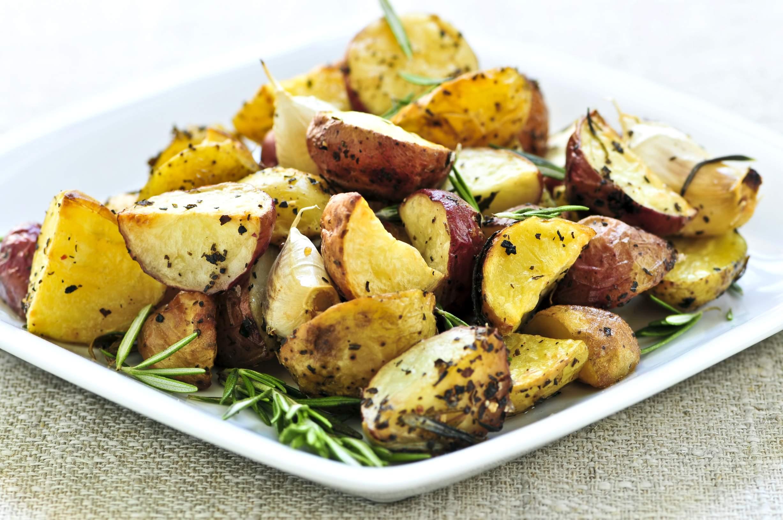 Мясо Картофель жареный со шпиком