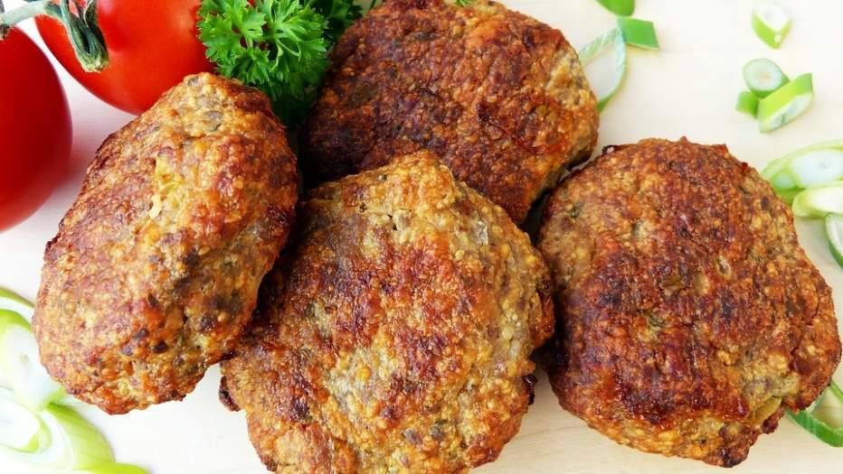Мясо Котлеты из фарша говяжьего