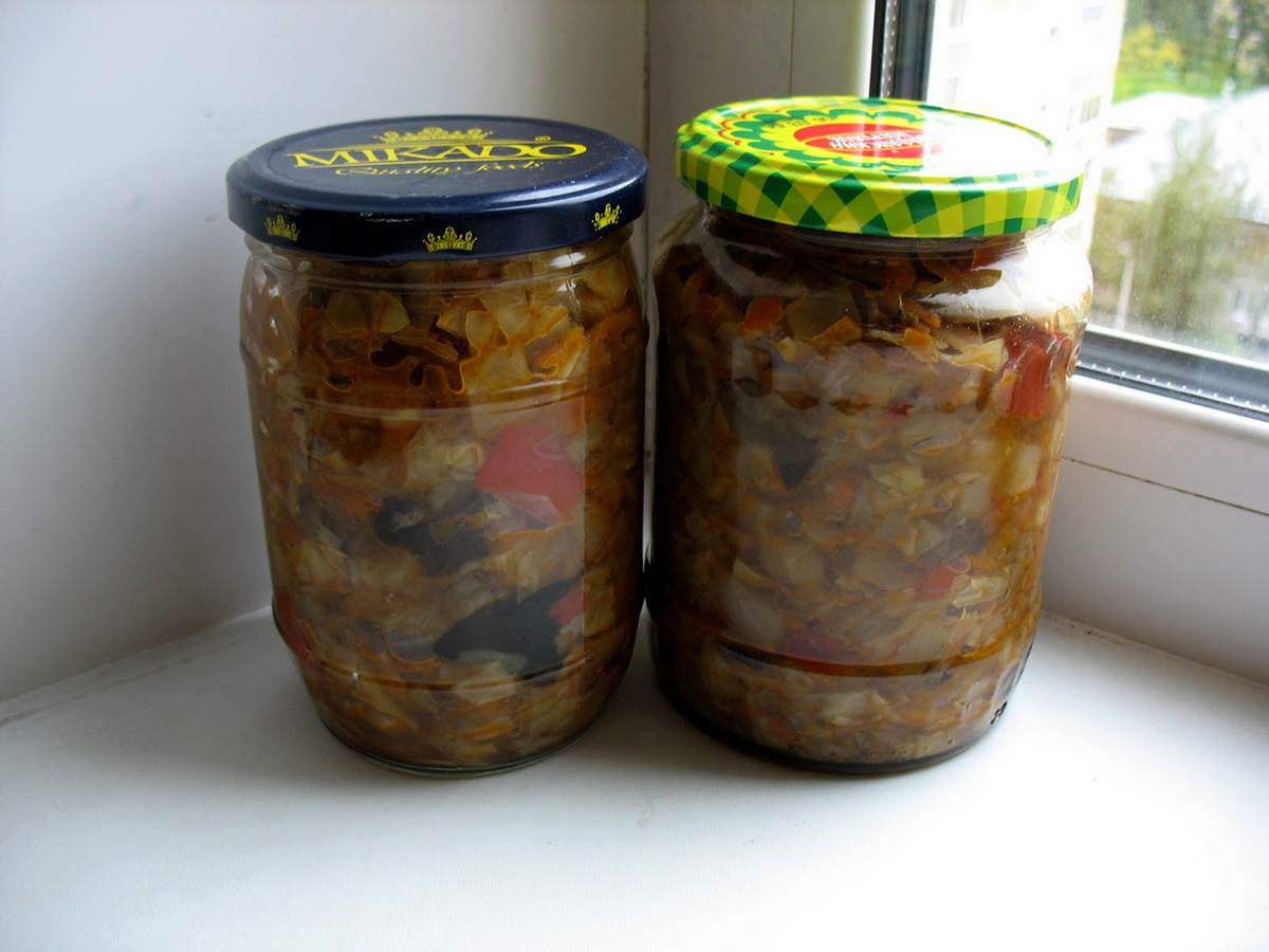 Рецепты на зиму грибной солянки на зиму