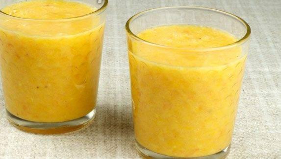 Готовим Коктейли Апельсиновый смузи