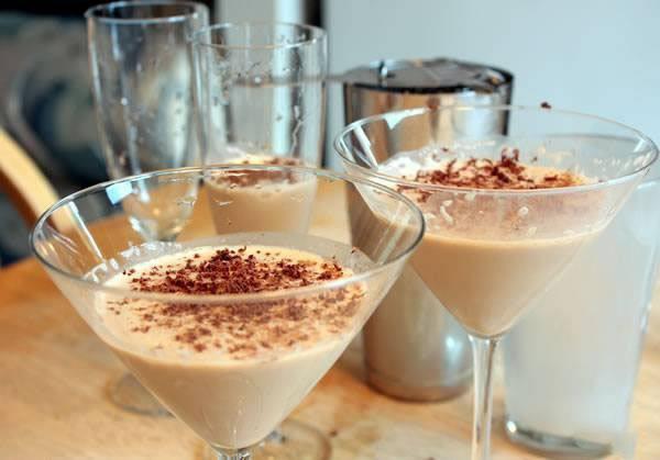 рецепты коктейлей с брени