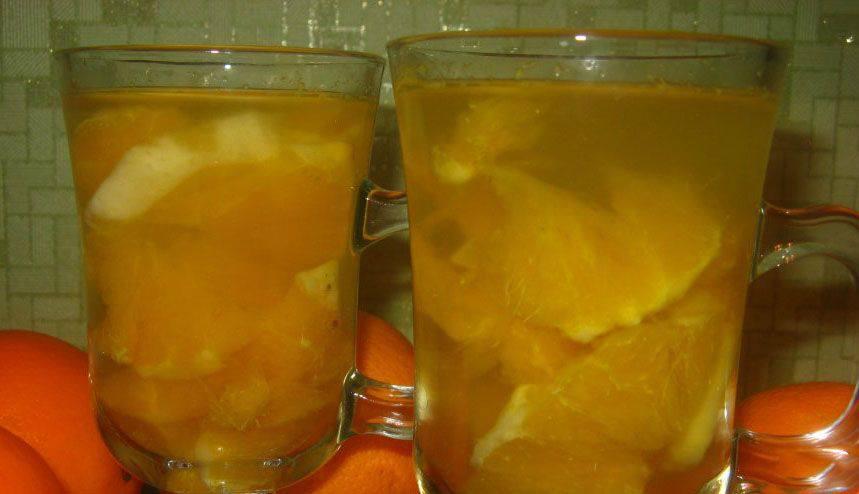Компот из апельсинов пошаговый рецепт с картинками реакция