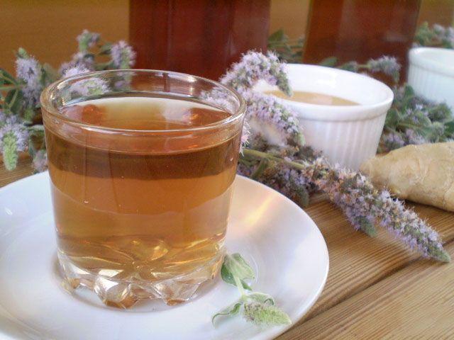 Готовим Коктейли Медовый напиток с мелиссой