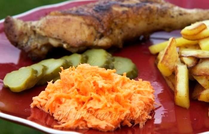 Рецепт Салат из моркови с чесноком шаг-3