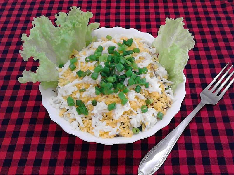 Салаты с картофелем фри рецепты с фото